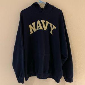 NCAA US Navy Men Hoodie Size: XXL